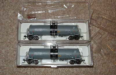 Atlas N Scale 17,360 Gallon Tank Cars x 2 Occidental Chemical #132268 - NEW