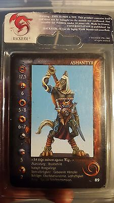 Rackham Confrontation Ashan'Tyr Wolfen Limited edition German 994/2000
