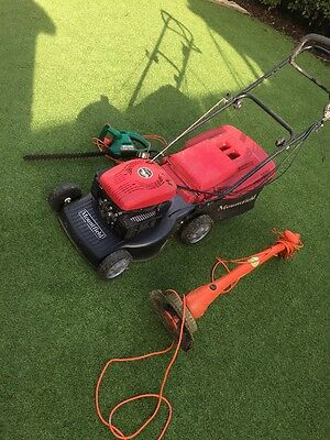 lawn mower and strimmer And Hedge Trimmer