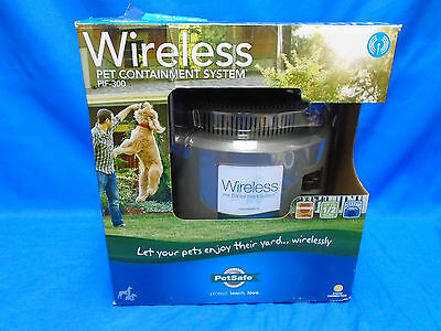 PetSafe PIF-300 Wireless Pet Dog Training Containment System Fence NEW open box