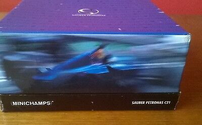 Minichamps 1:43 Sauber Petronas C21 with F1 car sound gift box