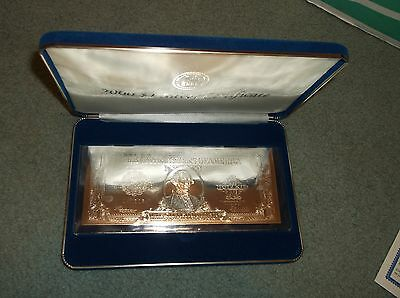 National Collectors Mint 2000 One Dollar Silver Certificate $1 .999 Fine Silver