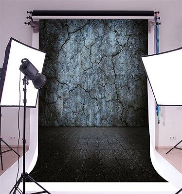 5x7ft Cracked Wall Vinyl Photo Background Photography Wall Backdrop Studio Props