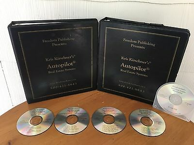Wholesaling Houses System On Autopilot By Kris Kirschner - MANUAL & 5 CD'S! RARE
