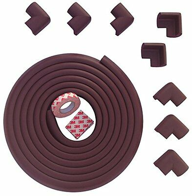 Table Edge Guard & Corner Bumpers for Baby Proofing Easy to Install, Extra tape