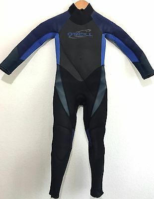 O'Neill Childs Full Wetsuit Epic 4/3 Kids Youth Juniors Size 6