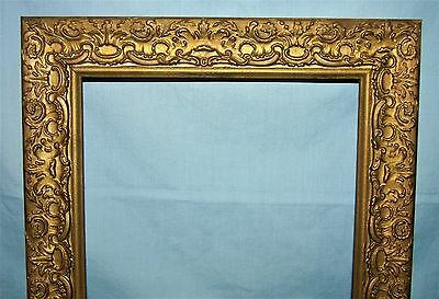 Vintage Gold Gilt Wood Picture Art Mirror Frame 11x14 #1