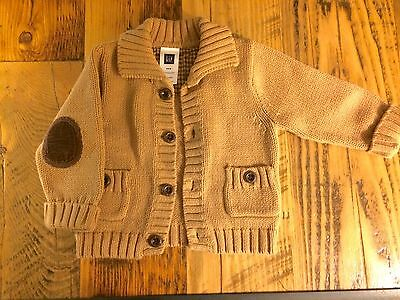 Gap Elbow Patch Sweater 3-6 Month