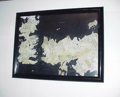 Game of Thrones Poster #24 FRAMED Map of Westeros