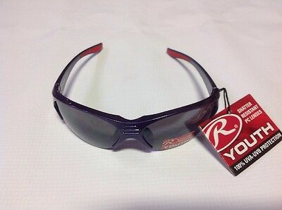 RAWLINGS YOUTH 104 SPORT SUNGLASSES PURPLE/RED Limited Quantity