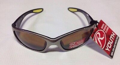 RAWLINGS YOUTH 108 SPORT SUNGLASSES BLACK/GREEN Limited Quantity.