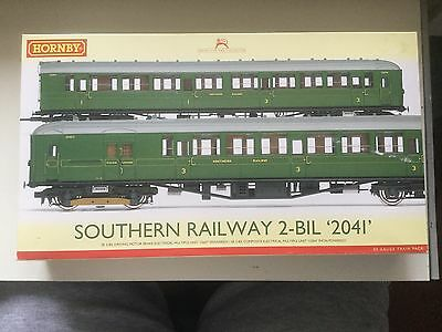 Oo-Hornby R3161A-Empty Stock Box For 2 Car 2 Bil Sr Train Pack--Empty Stock Box