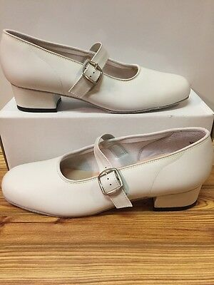 Majestic Size 10 W Womens Square Dance Shoes, White