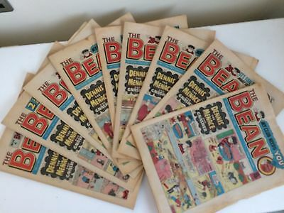 BEANO COMICS from the 1980s Vintage Collectable x9 Comics