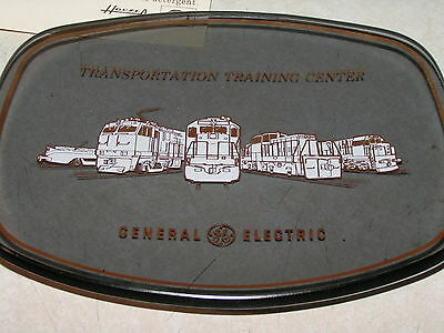General Electric Railroad Locomotive Transportation Training Center Plate