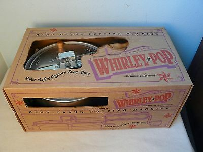 Wabash Valley Farms The Original Whirley Pop Stovetop Popcorn Popper NIB