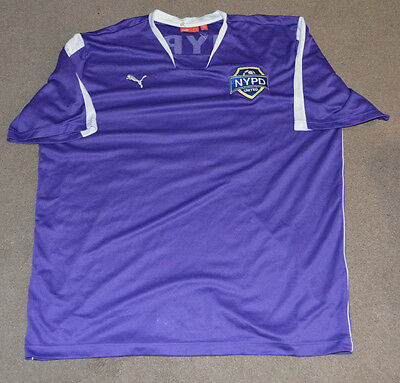 NWOT NYPD United Soccer Team Issued Jersey XL Police Department NY NYC RARE