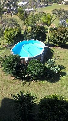 Sterns Above Ground swimming pool