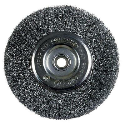 """Avanti Pro 6"""" Fine Bench Wire Grinder Wheel Metal Cleaning Polisher Rust Remover"""