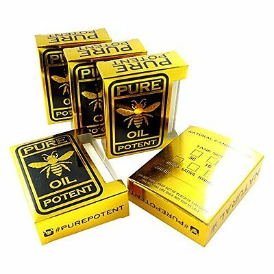 Solid Gold Pure Potent Oil CBD Tip Display Concentrate Packaging Boxes VB-005