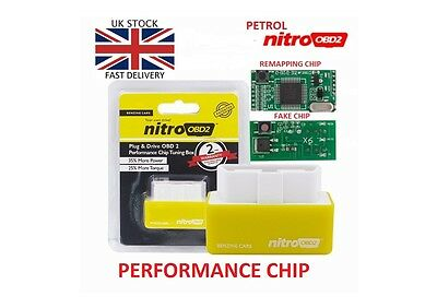 Nitro Obd2 Performance Chip Tuning Box Interface Plug And Drive For Petrol