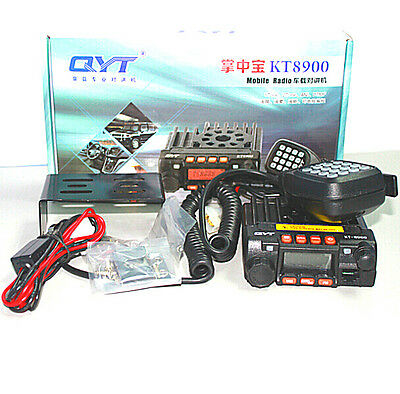 QYT KT8900 136-174/400-480MHz dual band Mini Mobile Car Radio KT8900 Transceiver