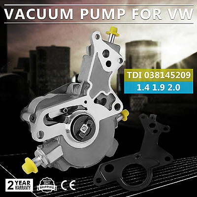 Volkswagen Power Brake Booster Vacuum Pump Jetta Beetle Golf Vw Passat