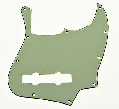 Mint Green 5 String Jazz Bass J Bass Pickguard Scratch Plate fits Fender