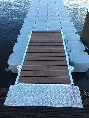 T Dock Floating Pontoon - With Gangway