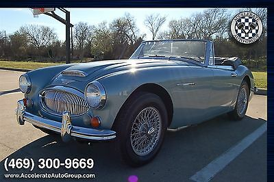 1967 Austin Healey 3000 NUMBERS MATCHING ONLY 44K MILES - ULTRA ORIGINAL H NUMBERS MATCHING ONLY 44K MILES - ULTRA ORIGINAL HERITAGE CERT