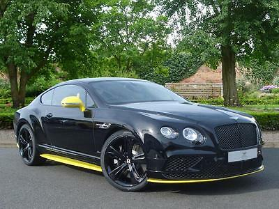 2017 Bentley Continental GT SPEED Petrol black Automatic