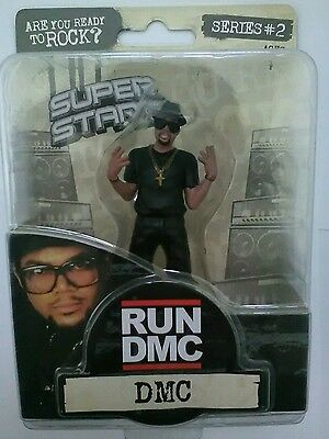 RUN DMC Figure - 2009 Rare Collectable - MINT - Hip Hop Celebrity Figurine