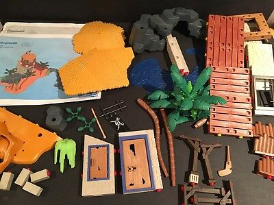 Huge Lot of PLAYMOBIL 3938 3285 Pirates Lagoon Prison Tower Parts & Pieces