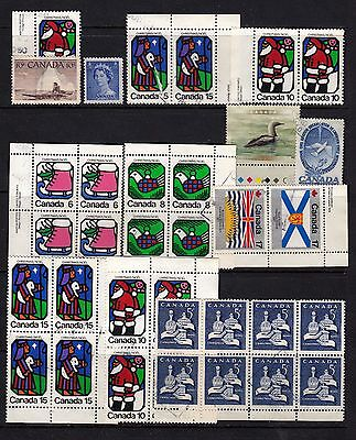 Lot of Canada stamps USED L#1009