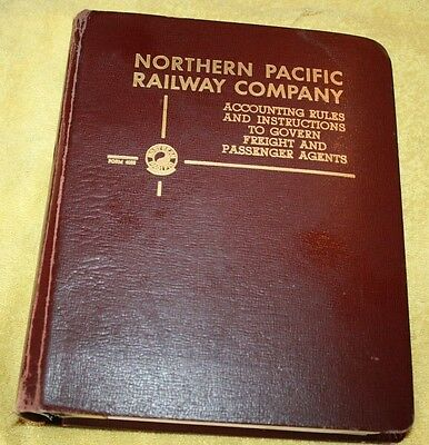 1959  Northern Pacific Railway Company Accounting  Rules  & Instructions