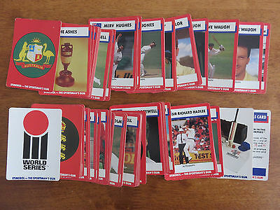 1990 / 91 Stimorol Cricket Cards. Complete Set.  Mint Condition.