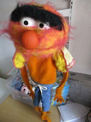 The Muppet Show Handpuppe Puppe ANIMAL 1978 Fisher Price Toys 60 cm