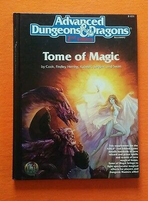 Tome of Magic AD&D 2nd Edition Player's Handbook