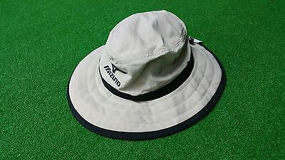 2017 Mizuno Bucket Sun Hat, UPF 50+ (L/XL) - Chalk/Black, NEW!!