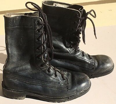 Vintage 1980s 'PLUS 50' Australian Army Boots Cadets Military Reserves
