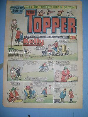Topper issue 1083 dated November 3 1973