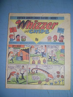 Whizzer and Chips issue dated June 5 1976