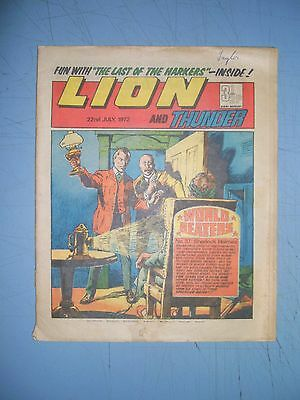 Lion issue dated July 22 1972