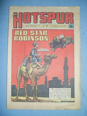 Hotspur issue 748 dated February 16 1974