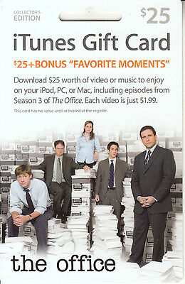 Gift Card U.S.A. iTunes - The Office
