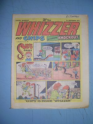 Whizzer and Chips issue dated December 1 1973