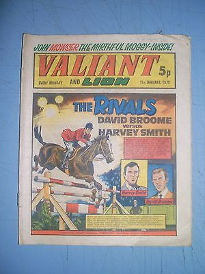 Valiant issue dated January 11 1975