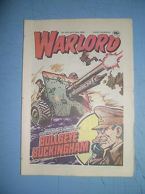 Warlord issue 512 dated July 14 1984