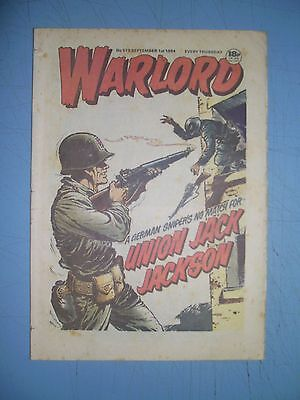 Warlord issue 519 dated September 1 1984