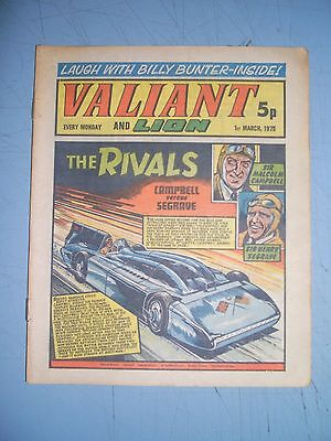 Valiant issue dated March 1 1975